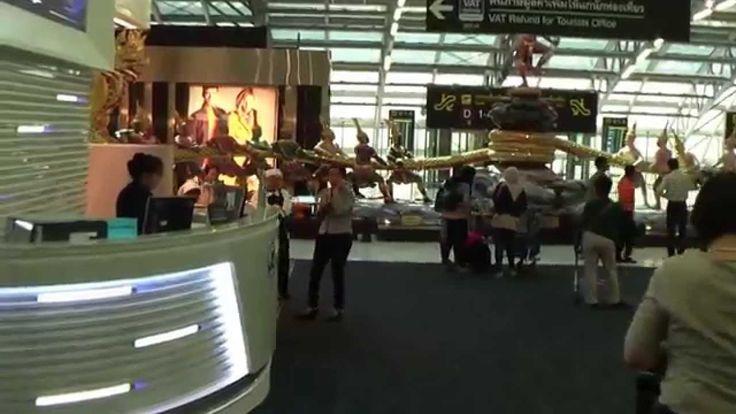 Шоппинг в дьюти фри в аэропорте Суварнабхами, Бангкок, Таиланд