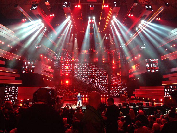 Polsat Sopot Festival - Stachursky na scenie :)