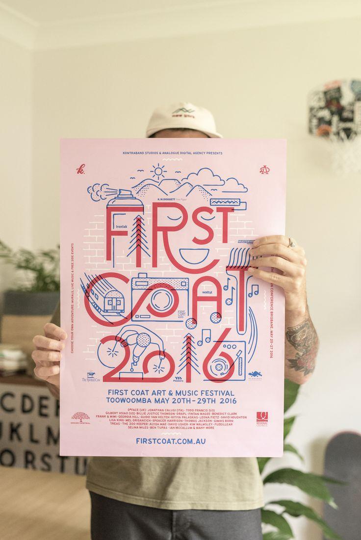 Illustrator & Designer Luke Day wearing The Per.