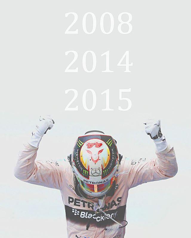 Triple World Champion Lewis Carl Davidson Hamilton