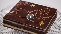 Opera-taart - recept | 24Kitchen