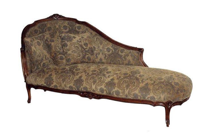 Louis XV Chaise Longue Medium 1