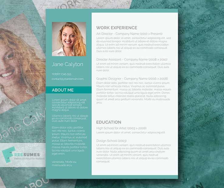 101 best Free Resume Templates For Word images on Pinterest - free word resume