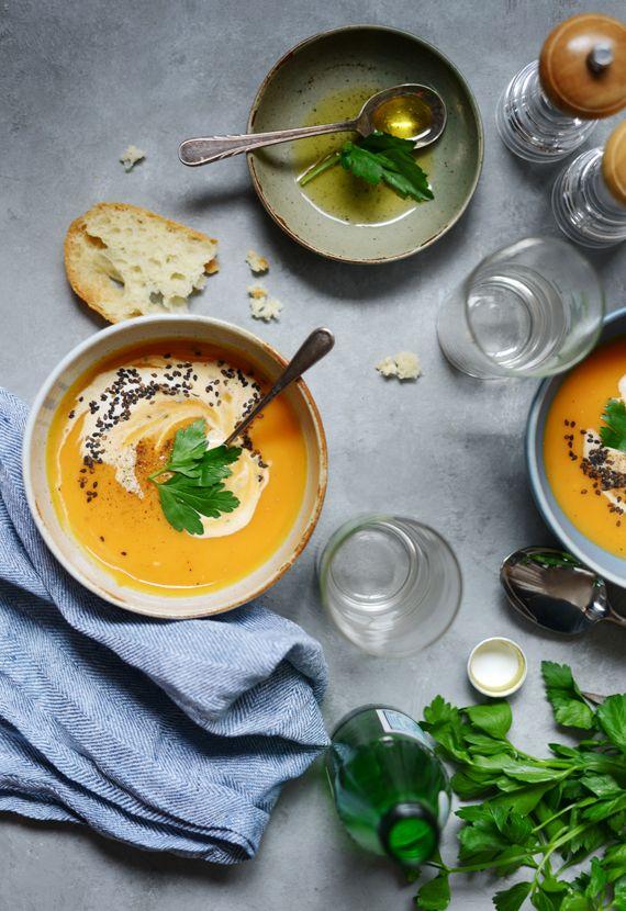 Madame Gateau: Soupe de patates douces au cheddar