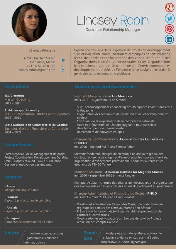 Cv Charge Relation Client Modele Cv Sur Mesure Moderne Upcvup Modele Cv Relation Entretien Embauche