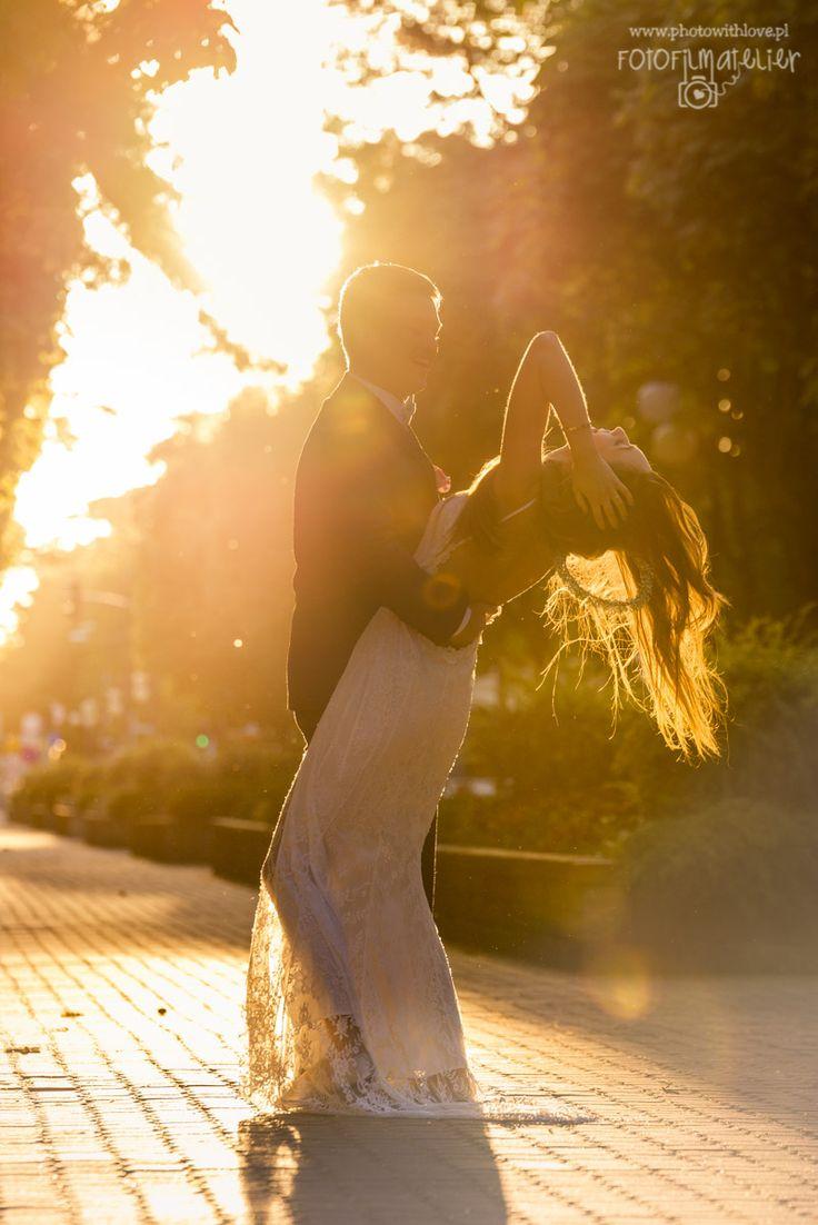 sunrise wedding photography