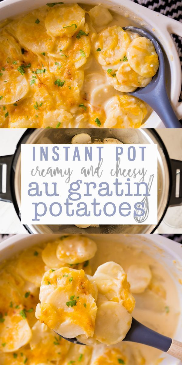 Mar 18, 2020 – Instant Pot Au Gratin Potatoes are a thinly sliced potato covered in a rich & creamy cheese sauce. Made i…