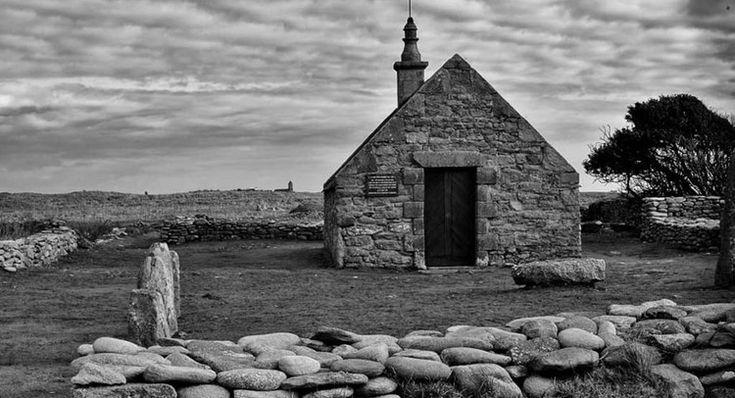 La chapelle Saint-Corentin, sur l'île de Sein