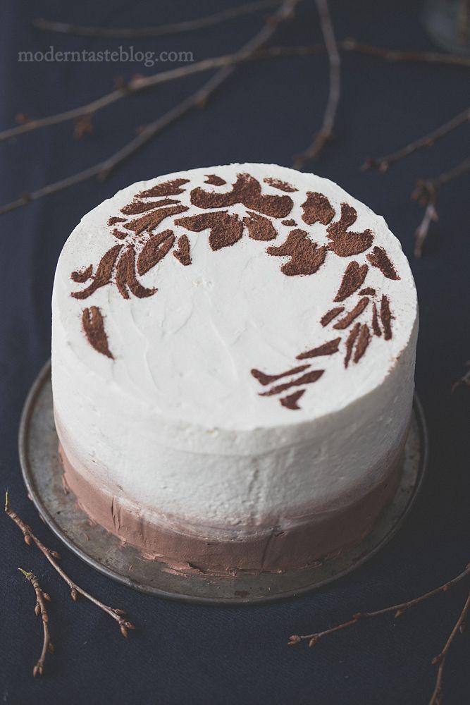Tiramisu κέικ?  τιραμισού?  κέικ καφέ?  εύκολη τούρτα?  φωτογραφία μαγειρική