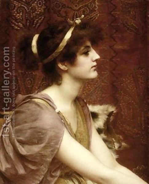 A Classical Beauty I 2 by John William Godward 1861-1922