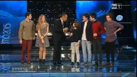 #Sanremo2015 il cast di #BraccialettiRossi
