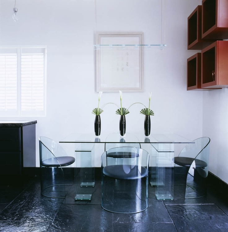 Glass Table. Design by Oliver Burns.