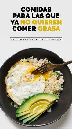 Comida rápida y nutritiva  Pinterest ;) | https://pinterest.com/cocinadosiempre
