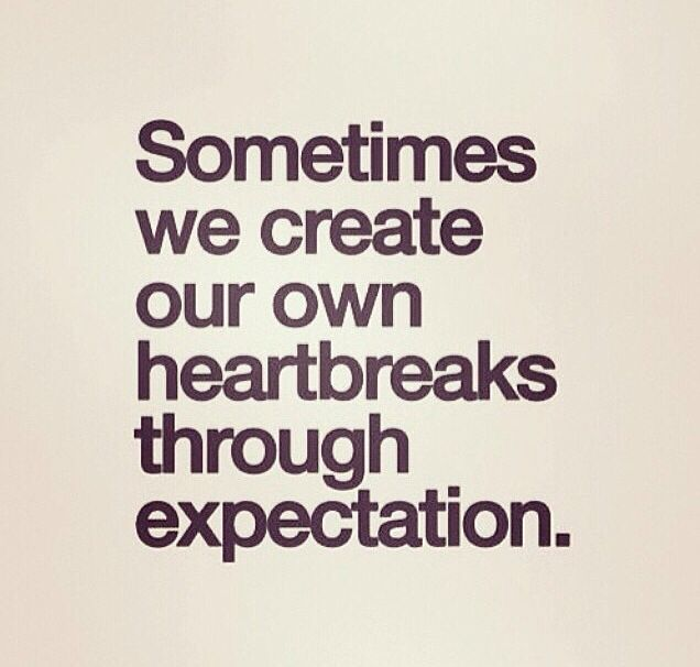 expectation quotes pinterest