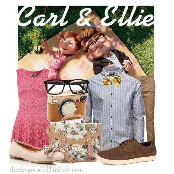 """Carl & Ellie"" by disney-villains on Polyvore"