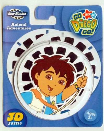 ViewMaster 3D Reels - Go Diego Go 3-pack set $12.00