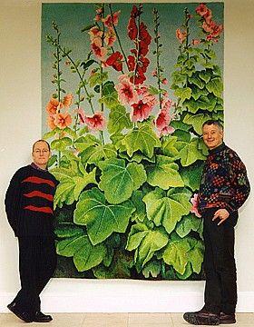 Tapestry by Kaffe Fassett - Wow!