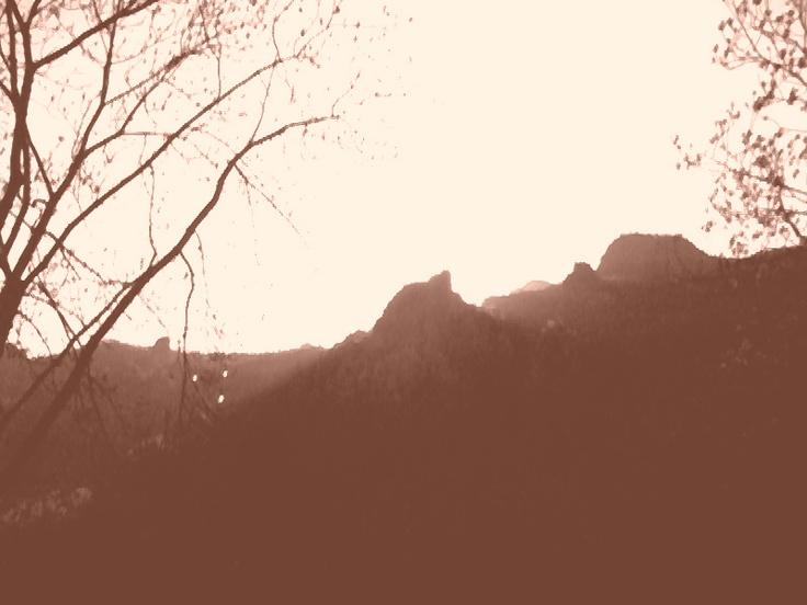 Val Brembana - Lone Peak -- Val Brembana - Picco solitario