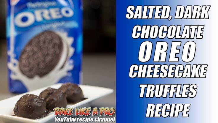 Dark Chocolate OREO Cheesecake Truffles #Recipe https://t.co/y6ZnkI9GJv @YouTube #CHOCOLATE #OREO #cheesecake https://t.co/eqe56Rp11u