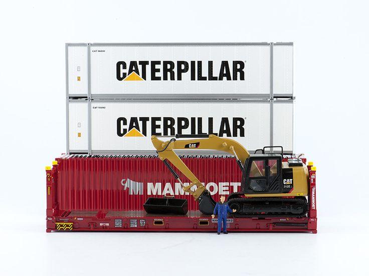 LATEST ADDITION! Caterpillar 312E [Custom 1:50]