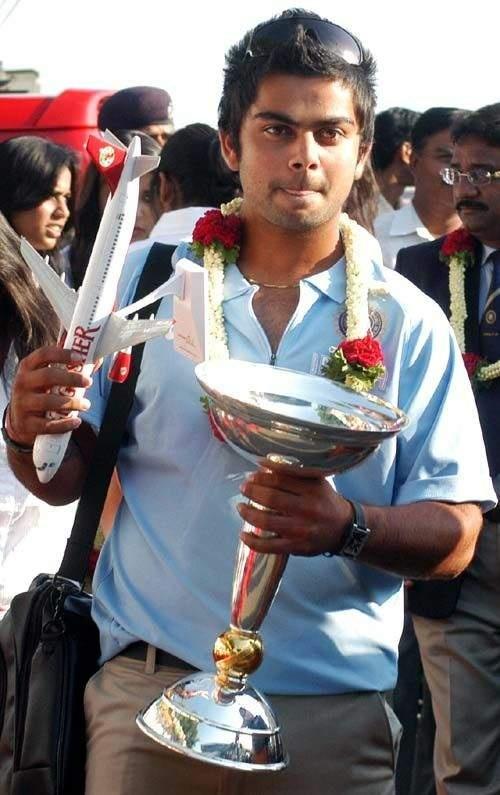 Virat Kohli, Captain of U19 Indian World Cup winning team   Veethi