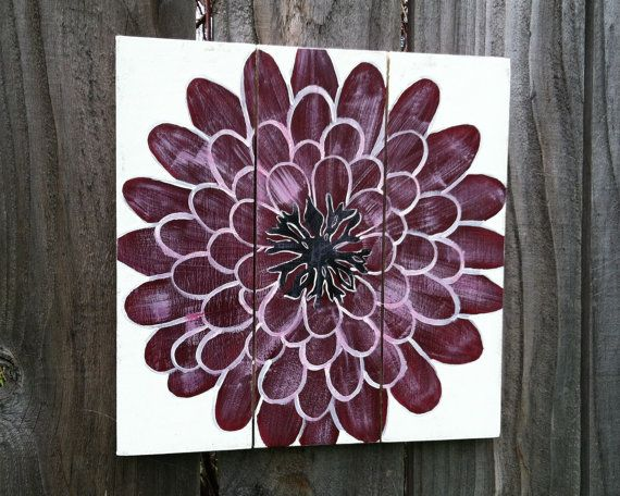 Find This Pin And More On Decorating Ideas Gerbera Daisy Purple Wall