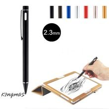 High-precision 2.3mm Active Chargeable Capacitive Touch Pen Stylus for iOS Android Microsoft Tablets PAD touch screen devices