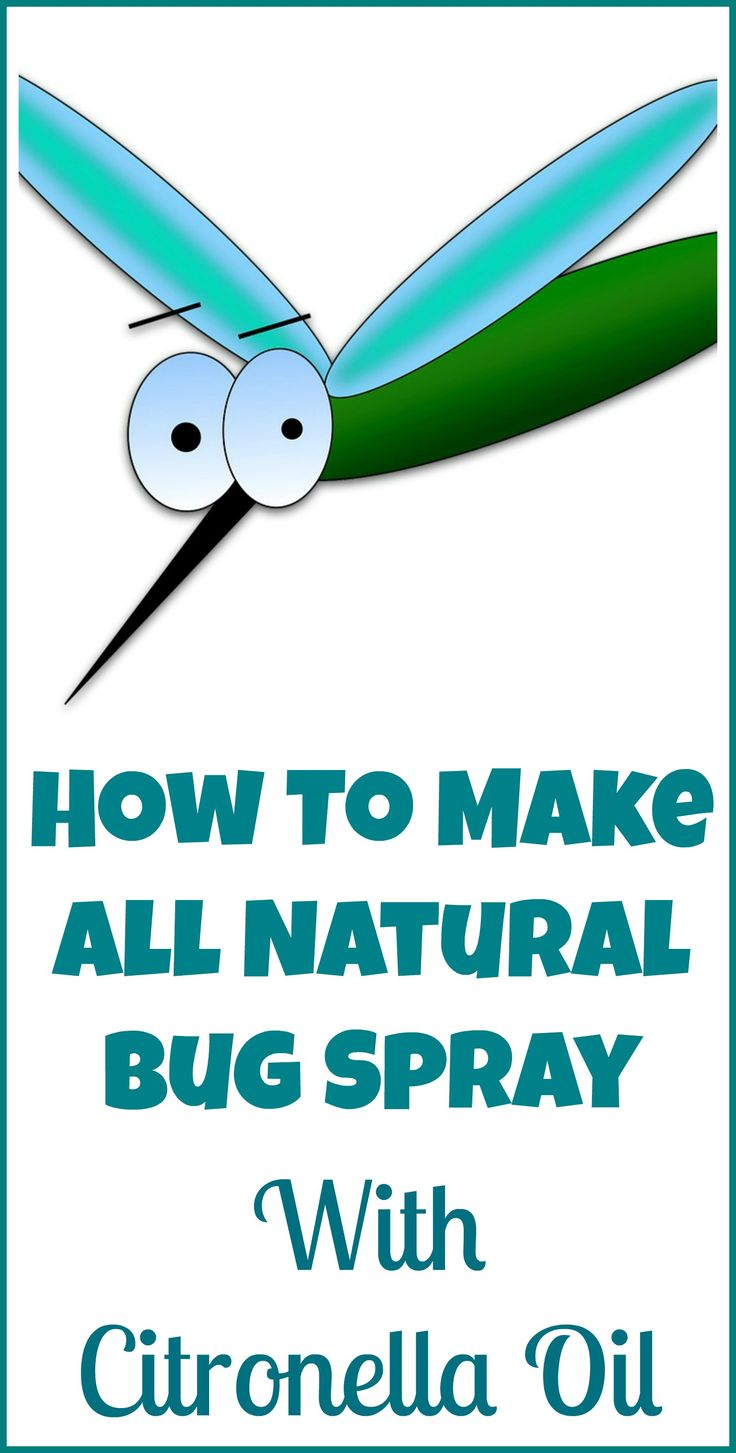 How to make your own natural non-toxic bug spray with citronella essential oil.