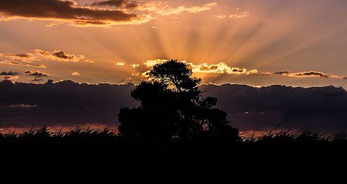 Sunrise at Oropos, East Attica, Greece