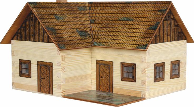 Set de constructie din lemn -Casa in singuratate - Walachia. Produs recomandat copiilor cu varsta peste 8 ani. Acceseaza link-ul sau comanda prin email la adresa comenzi@dmkids.ro. Cod produs DMK12640, pret 96,15 lei