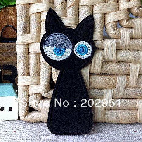 Ucuz Sevimli siyah kedi yama işlemeli demir aplike rozeti çocuk çocuklar karikatür yama 4.3*10cm 10pcs/lot toptan ücretsiz gönderim, Satın Kalite Yamalar doğrudan Çin Tedarikçilerden: Adı:demir kumaş yama kediYaklaşık boyutu:4.3*10cmRenk:göstermektedir pictueKullanımı:Için mükemmel giy