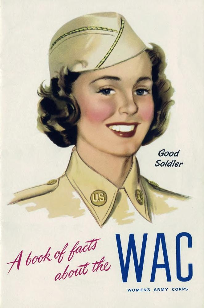 Cover of a book of facts about the WAC.
