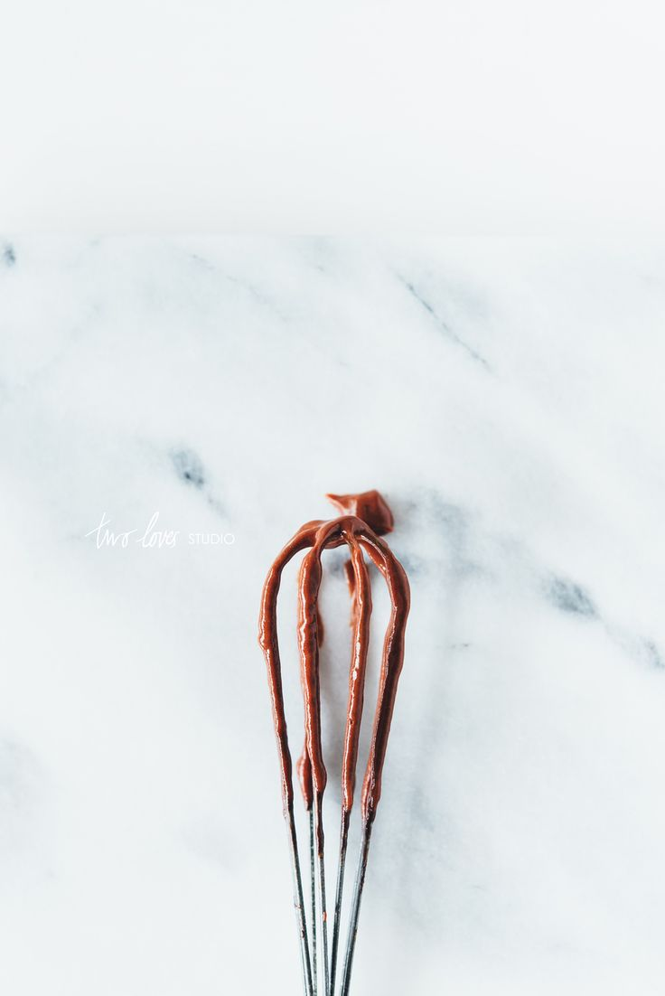 Food photography, Paleo Chocolate Mouse with natural light.