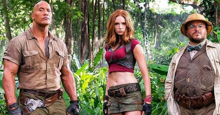 Karen Gillan Responds to Jumanji 2 Costume Controversy -- Karen Gillan says there is a perfectly good reason she is wearing 'child-sized' clothes in the first photo from Jumanji 2. -- http://movieweb.com/jumanji-2-karen-gillan-costume-controversy/