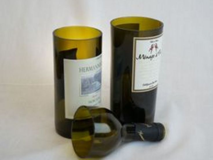 1000 images about copper on pinterest glass bottles for How to cut the end of a wine bottle