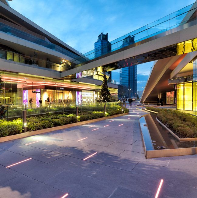 Zorlu Center by DS Landscape 15 « Landscape Architecture Works | Landezine