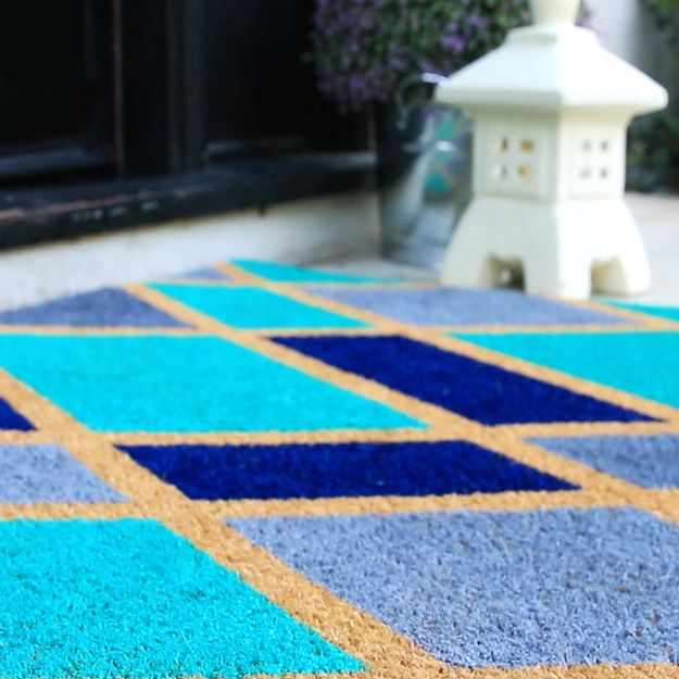 Voila! | This DIY Doormat Will Give You Instant Curb Appeal