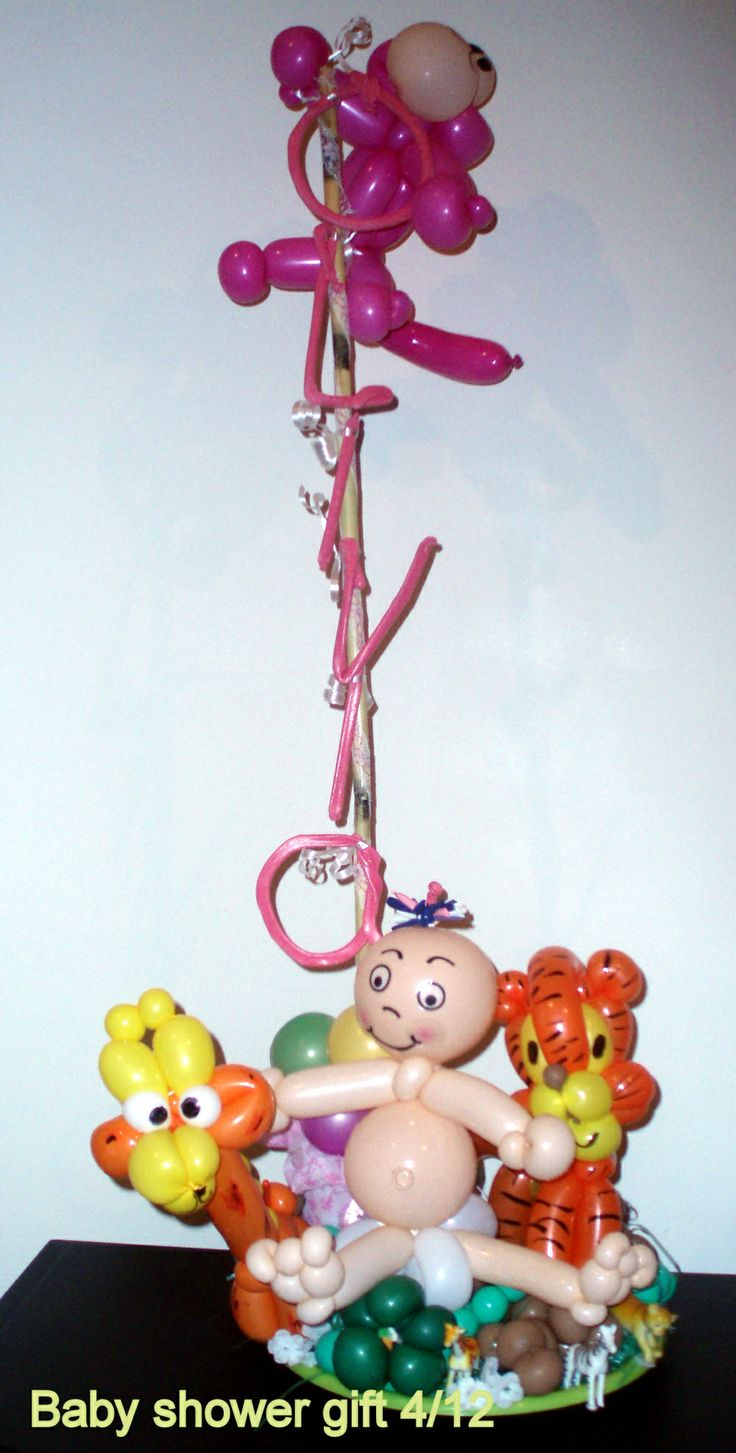 47 best Baby shower balloon decorating ideas images on Pinterest ...