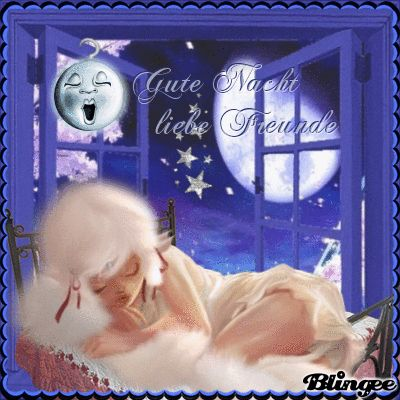 Gute Nacht liebe Freunde