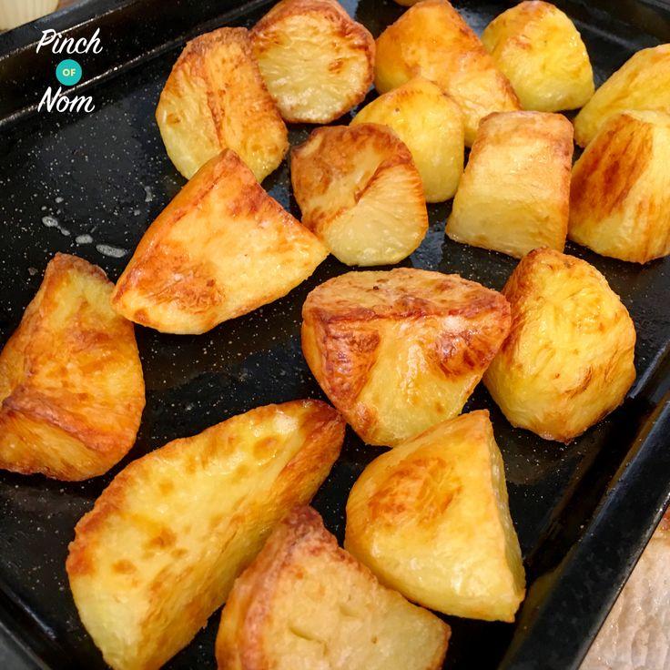 Syn Free Roast Potatoes   Slimming World - http://pinchofnom.com/recipes/syn-free-roast-potatoes-slimming-world/