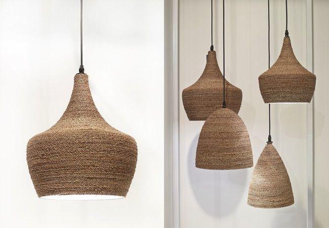 RATTAN LAMPS: