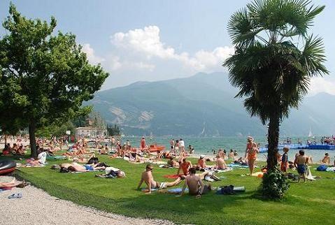 The Best Beach on Lake Garda