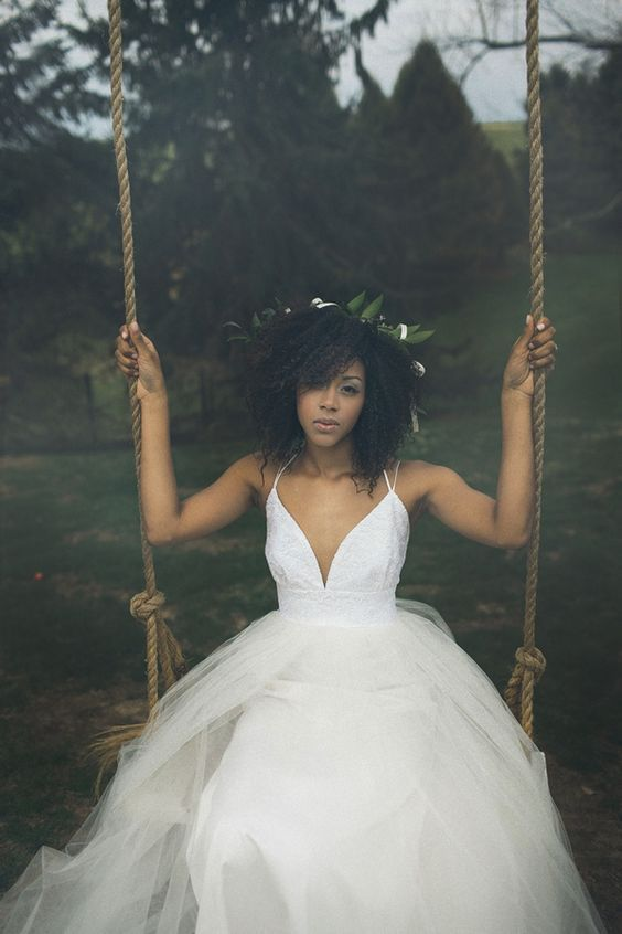 Gorgeous And Beautiful Natural Bridal Hairstyles For Your