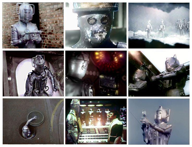 Zdjęcia z Babelcolour - Cybermen barwione przez Stuarta Humphryesa