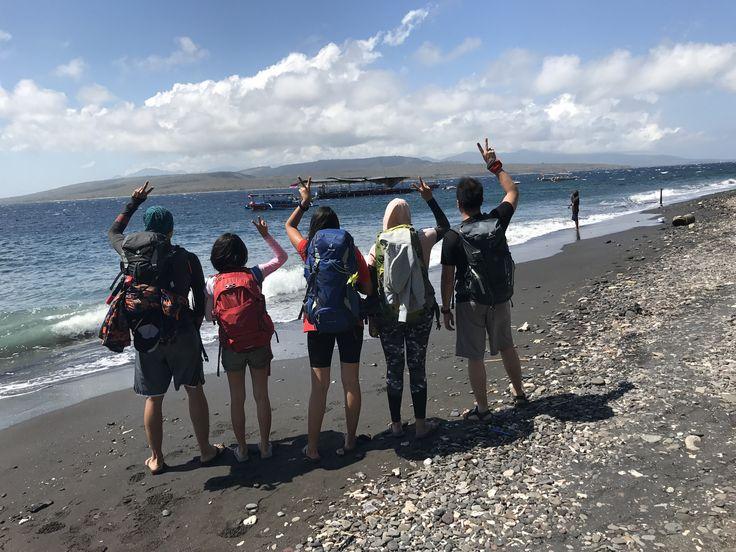 Trip buddies, Watu Dodol Beach, Banyuwangi - Indonesia