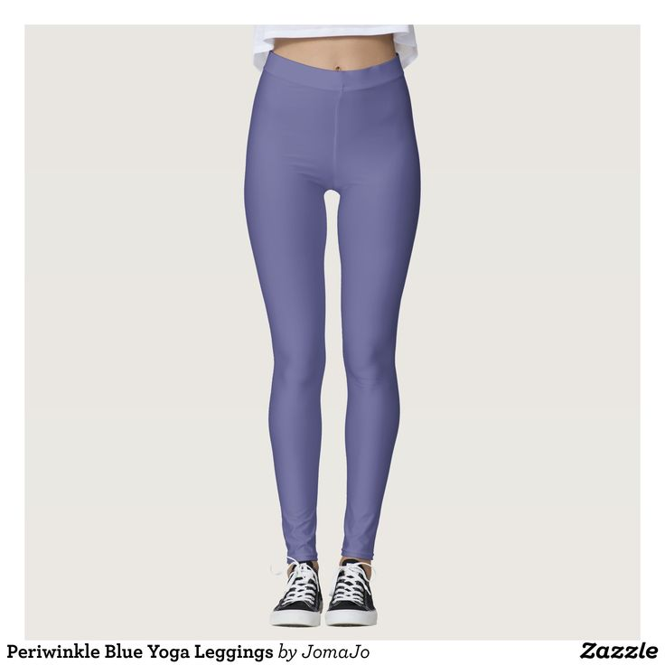 Periwinkle Blue Yoga Leggings : Beautiful #Yoga Pants - #Exercise Leggings and #Running Tights - Health and Training Inspiration - Clothing for #Fitspiration and #Fitspo - Strong Female and Female Empowerment Apparel - #Fitness and Gym Inspo - #Motivational Colorful Workout Clothes by Talented Graphic Designers