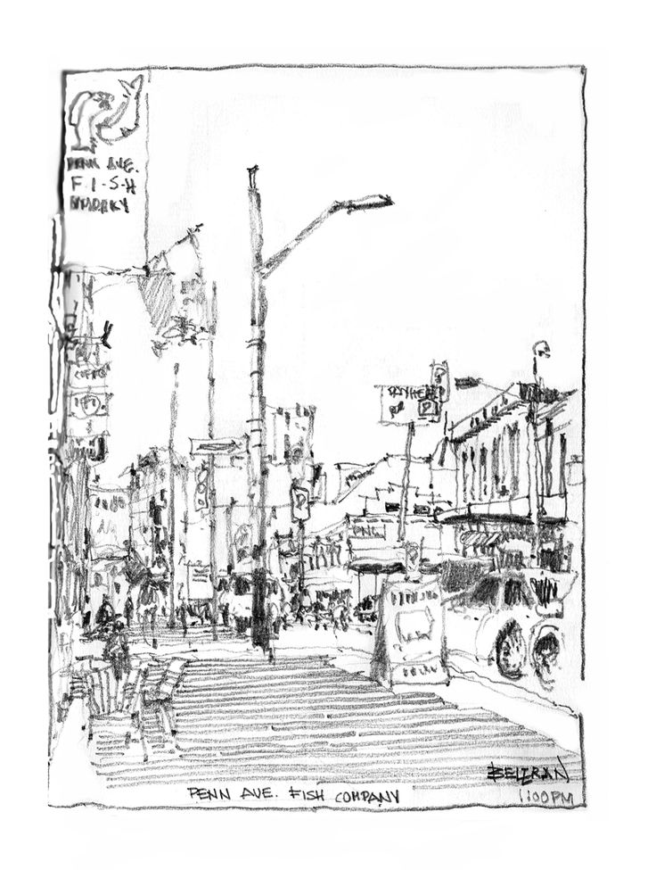 76 best images about sketching in pittsburgh on pinterest for Penn ave fish co