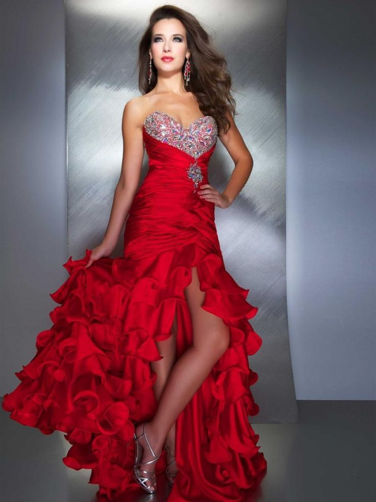 9 best Unusual Red Prom Dresses Ideas images on Pinterest | Evening ...