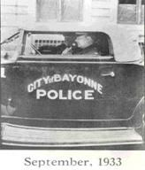 In 1933,  Through advancement created by Radio Engineer Frank A. Gunther and a police station operator Vince J. Doyle, created a new innovation for police.  In  Bayonne, New Jersey the two decided to place radio transmitters in police cars that allowed them to communicate back and forth with their station. This was the first time that Two- Way Police Radio Communication existed.  This innovation came about 5 years after the station in Detroit had created the One-Way Device.