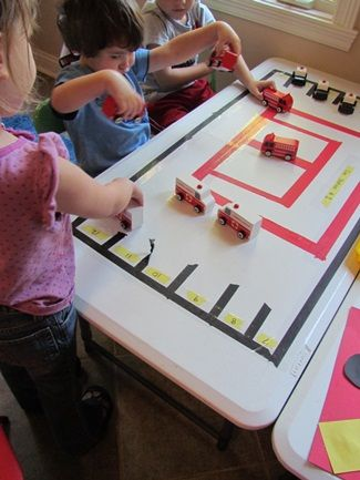 Ways to learn and play- Fire Safety Week by Teach Preschool